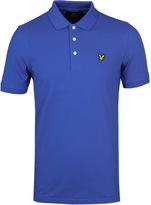 Lyle & Scott Lake Blue Pique Polo Shirt