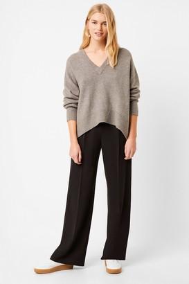 French Connenction Nina Knit V Neck Sweater