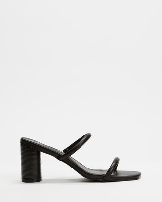 Billini - Women's Black Strappy sandals - Davey - Size 5 at The Iconic
