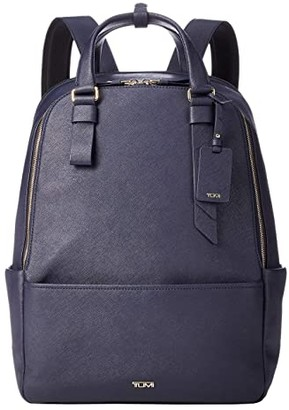 Tumi Varek Worth Backpack (Navy) Backpack Bags