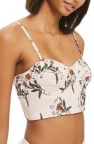 Topshop Women's Daisy Print Bralette