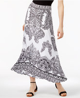 INC International Concepts Petite Printed Maxi Skirt, Created for Macy's