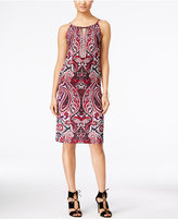 INC International Concepts Petite Embellished Keyhole Sheath Dress, Only at Macy's