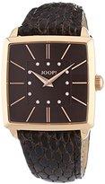 JOOP! Joop. Women's Quartz Watch with Black Dial Analogue Display Quartz Leather JP100732 °F05U