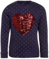 Mothercare MARINER HEART Sweatshirt navy