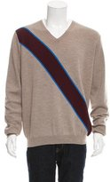 Marni Virgin Wool V-Neck Sweater