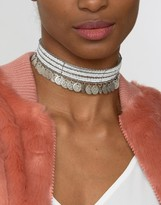 Raga Beaded & Coin Choker