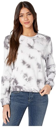 Hurley One and Only Wash Perfect Crew (Pure Platinum) Women's Sweatshirt