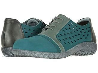 Naot Footwear Lalo (Soft Gray Nubuck/Vintage Slate Leather Combo) Women's Shoes