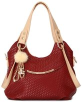 Bagtopia Women's Fashion Premium PU Leather Cross Body Shoulder Bag Candy Colors Hobo Purse and Handbag