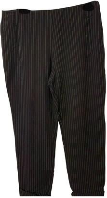 Jean Paul Gaultier Black Wool Trousers for Women
