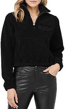 David Lerner Andi Half-Zip Fleece Sweatshirt