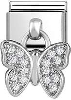 Nomination Women 925 Silver White Zircon