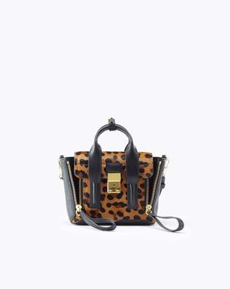 3.1 Phillip Lim Leopard Pashli Mini Satchel