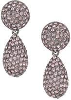 Nina Medium Teadrop Pave Swarovski Stones Earrings Earring