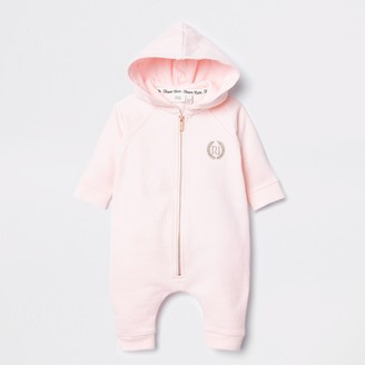River Island Baby Pink angel wings baby grow