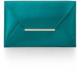 Harlow Satin Envelope Clutch