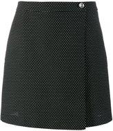 Jour/Né - wrap mini skirt - women - Cotton/Polyester - 34