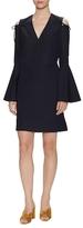 Derek Lam Cotton Bell Sleeve Shift Dress