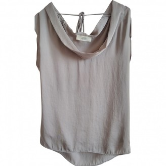 Mauro Grifoni Beige Top for Women