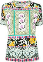 Etro printed T-shirt - women - Viscose - 42