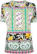 Etro printed T-shirt - women - Viscose - 44