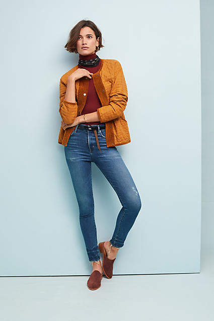 Citizens of Humanity Rocket Mid-Rise Skinny Petite Jeans