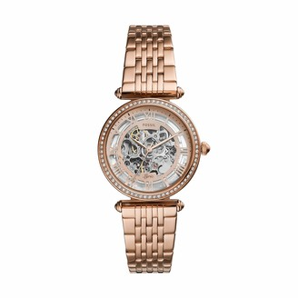 Fossil Women's Lyric Automatic Watch with Stainless Steel Strap