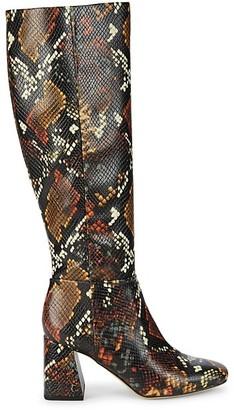 Sam Edelman Karina Faux Leather Knee-High Boots
