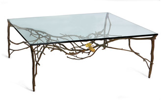 Michael Aram Butterfly Ginkgo Coffee Table