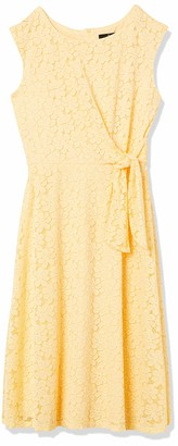 Ronni Nicole Women's Lace fit and Flare midi