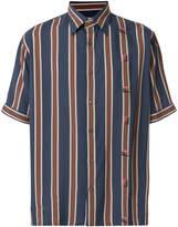Fendi striped short-sleeve shirt