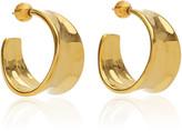 Sophie Buhai Wave 18K Gold Vermeil Hoop Earrings