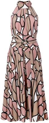 Diane von Furstenberg Nicola silk midi dress
