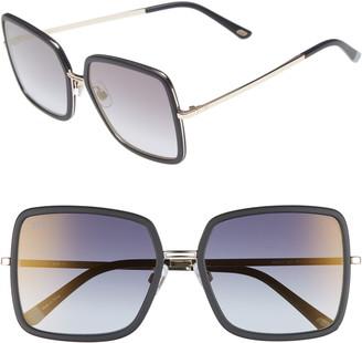 Web 57mm Sunglasses