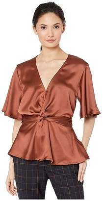 Bishop + Young Karlie Top (Copper) Women's Clothing