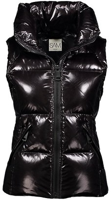 SAM. Freedom Glossy Puffer Down Vest
