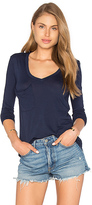 Bobi Light Weight Jersey Front Pocket Long Sleeve Top