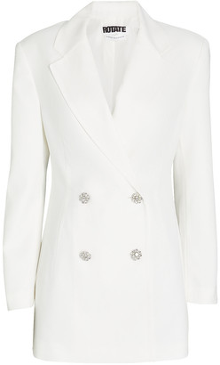 Rotate by Birger Christensen Fonda Double-Breasted Blazer Dress