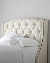 Bernhardt Rami Wing Twin Tufted Headboard