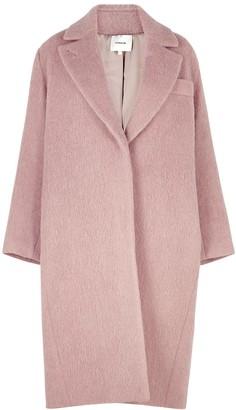Vince Dusky Pink Wool-blend Coat