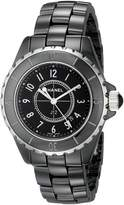 Chanel Women's J12 Ceramic and Stainless Steel Watch