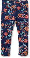 Old Navy Printed Long Leggings for Toddler Girls