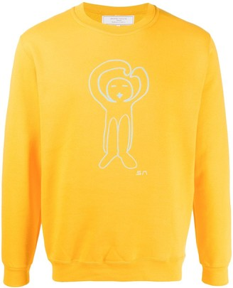 Societe Anonyme Cartoon Print Sweatshirt