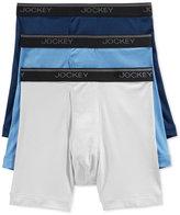 Jockey Men's Tagless StayCool Midway Briefs, 3 Pack