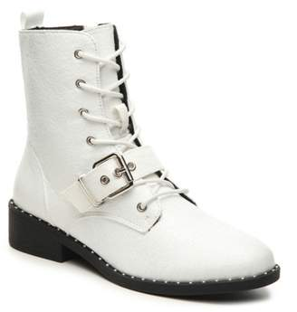 Qupid Plateau-224CX Combat Boot
