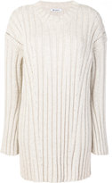 Dondup knitted jumper dress - women - Acrylic/Polyamide/Polyester/Mohair - XS