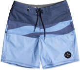 Quiksilver Heatwave Blocked Youth 15 Volley Beach Short