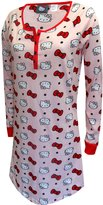 Hello Kitty Faces And Bows Night Shirt for women