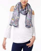 INC International Concepts Embroidered Floral Scarf, Only at Macy's
